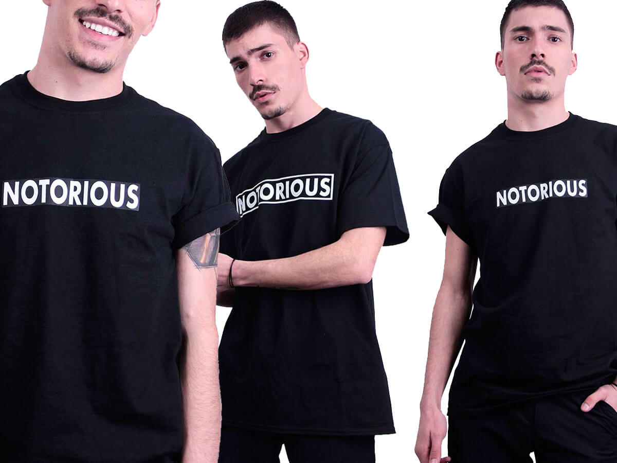 Banner Notorious tricou box logo