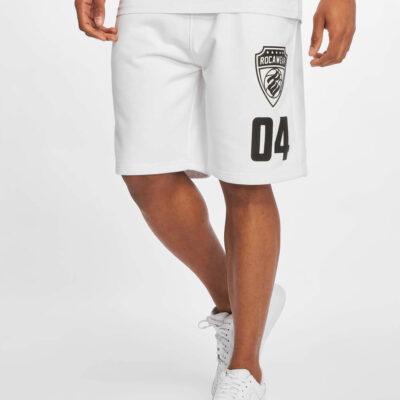 Pantaloni scurti Rocawear Fleece White