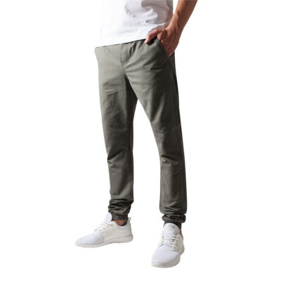 Pantaloni Urban Classics Washed Canvas Olive