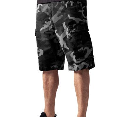 Pantaloni scurti Urban Classics Camouflage Cargo
