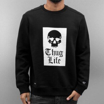 Bluza Thug Life Ghettos Thug Black