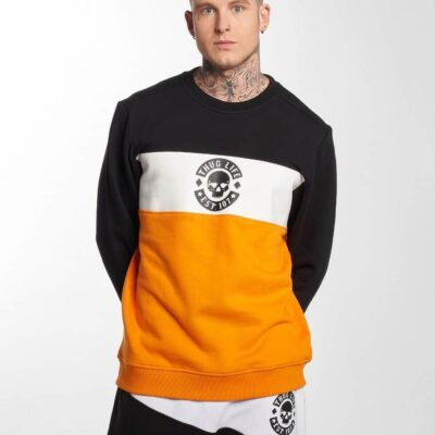 Bluza Thug Life Lion Orange