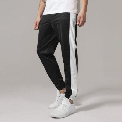 Pantaloni Urban Classics Track Blk/Wht