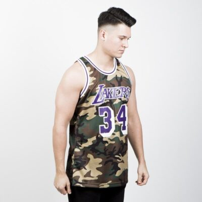 Jersey Swingman Mitchell & Ness Los Angeles Lakers - Shaquille O'neal Camo 2
