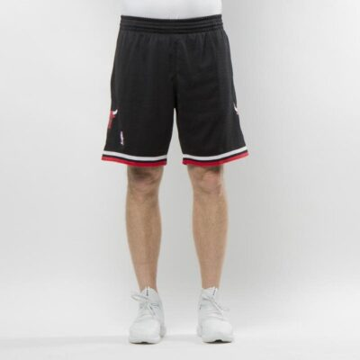 Pantaloni scurti Mitchell & Ness Chicago Bulls black Swingman