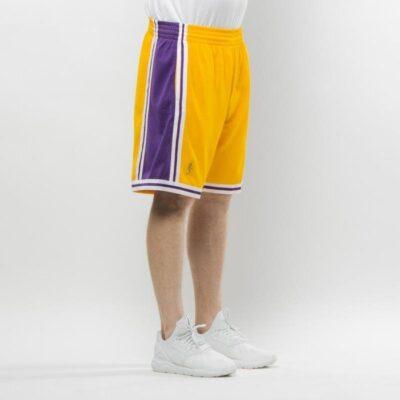 Pantaloni scurti Mitchell & Ness Los Angeles Lakers yellow Swingman 2