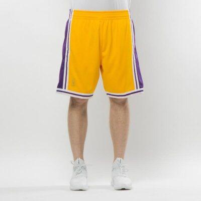 Pantaloni scurti Mitchell & Ness Los Angeles Lakers yellow Swingman