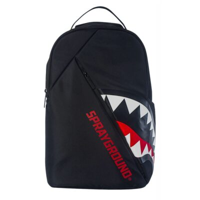 Rucsac Sprayground Angled Ghost Shark Black