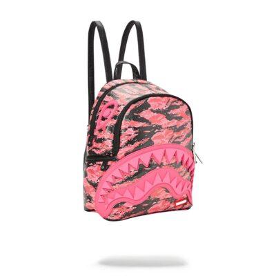 Rucsac Sprayground Pink Tiger Camo Sharkmouth mini 1