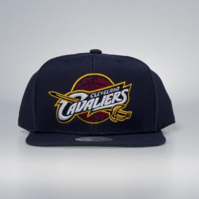 Sapca Mitchell & Ness Cleveland Cavaliers navy