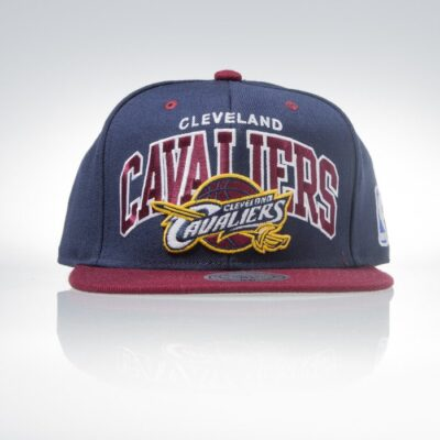 Sapca Mitchell & Ness Cleveland Cavaliers navy Team Arch