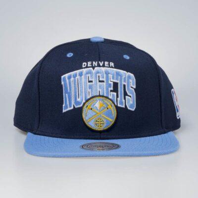 Sapca Mitchell & Ness Denver Nuggets navy blue Team Arch