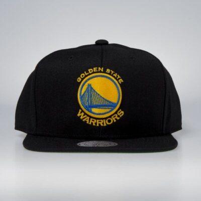 Sapca Mitchell & Ness Golden State Warriors black 4