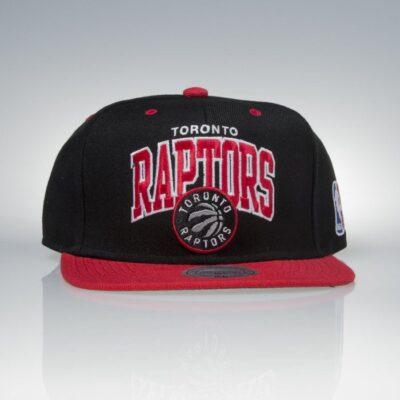 Sapca Mitchell & Ness Toronto Raptors black red TEAM ARCH