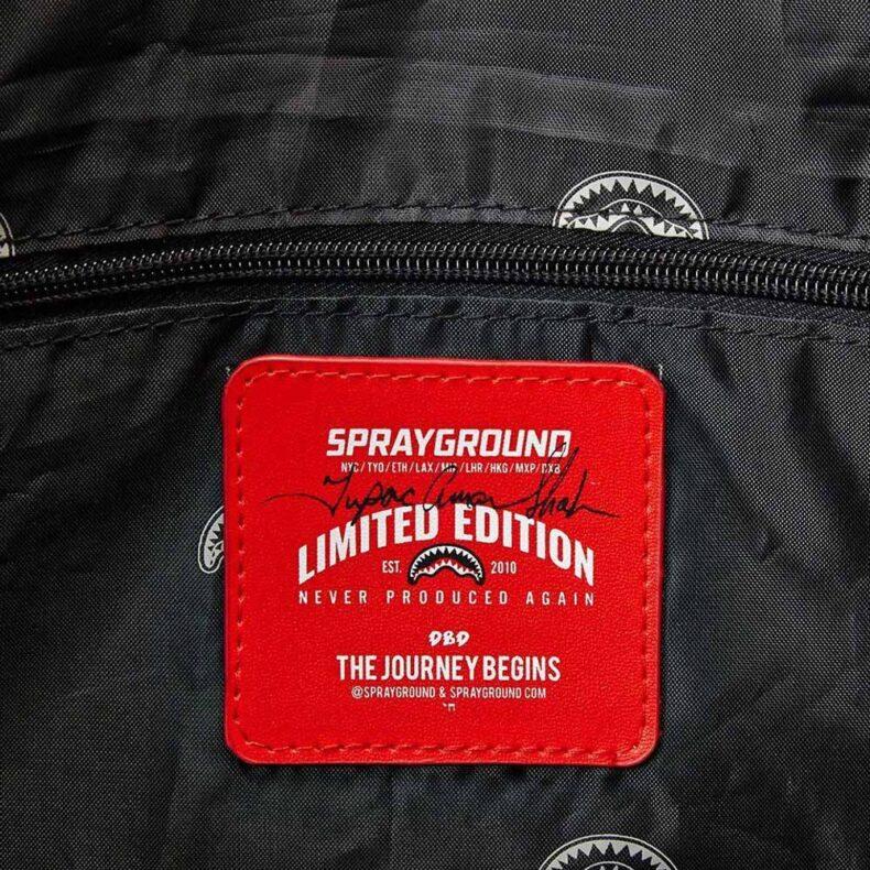 Sprayground Tupac Duffle Bag 6