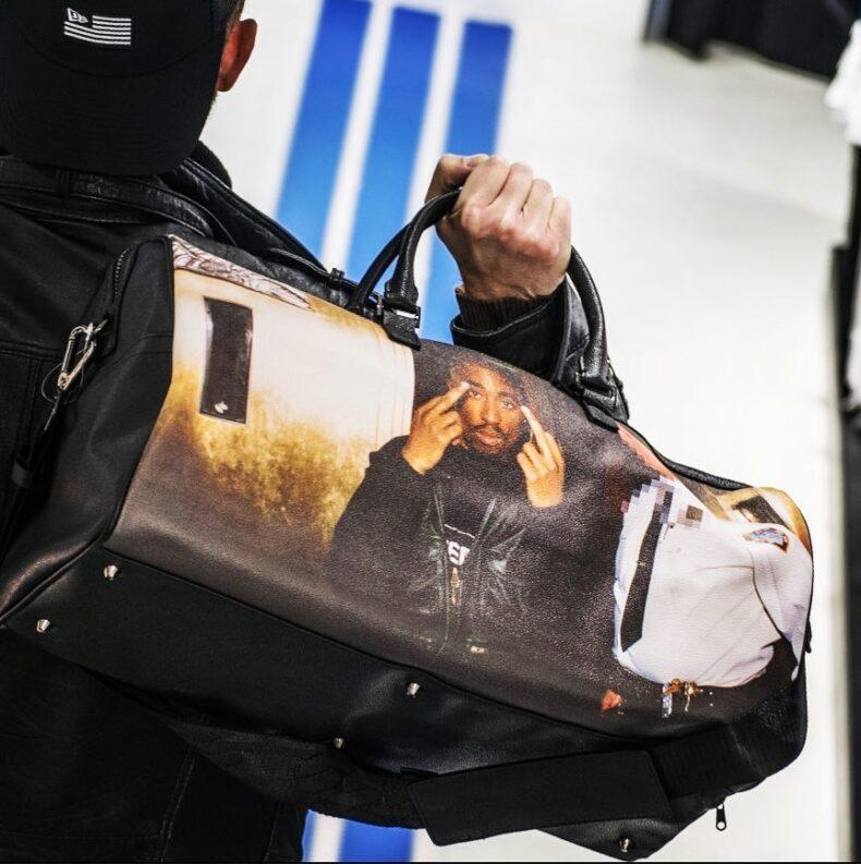 Sprayground Tupac Duffle Bag 7