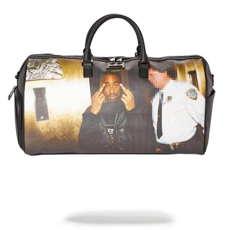 Sprayground Tupac Duffle Bag