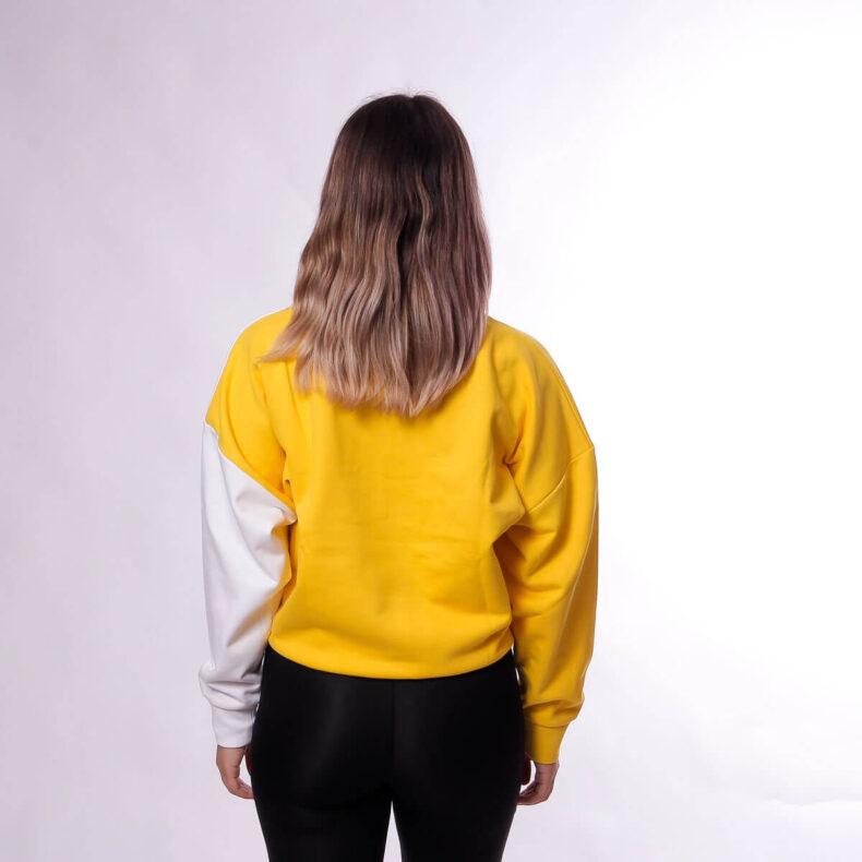Bluza-Karl-Kani-SPRT-Block-Yellow-White-4