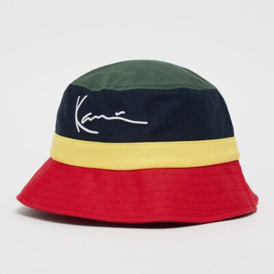Bucket Hat Karl Kani Signature Block Red