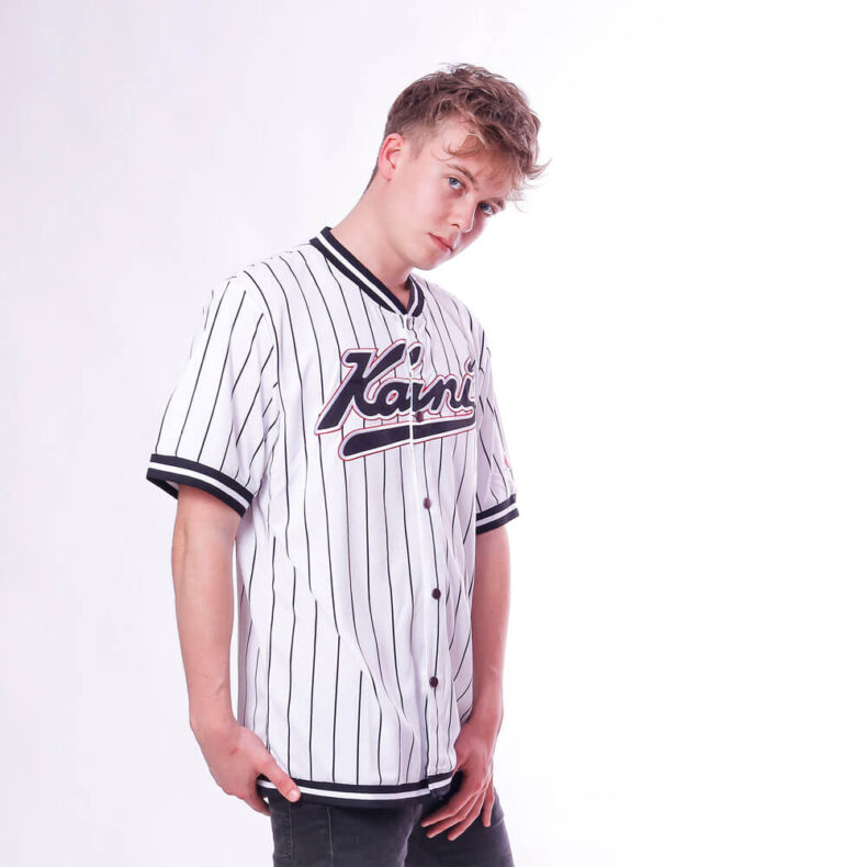 Jersey Karl Kani Varsity Pinstripe Baseball 4