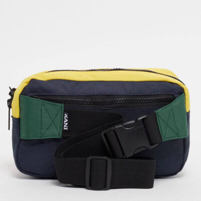 Borseta Karl Kani Signature Block Hip Bag Navy 1