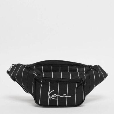 Borseta Karl Kani Signature Tape Waist Bag Black