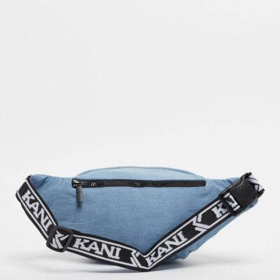 Borseta Karl Kani Signature Tape Waist Bag Blue 1
