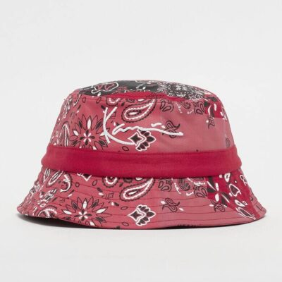 Bucket Hat Karl Kani Signature Satin Red