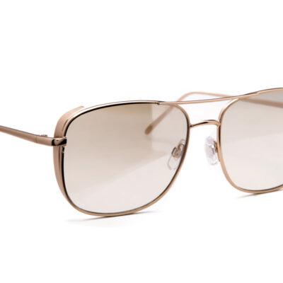 Ochelari de soare Jeepers Peepers MATT GOLD NAVIGATOR WITH SIDE CAPS