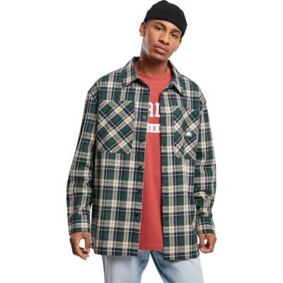 Camasa Southpole Check Flannel Green 1