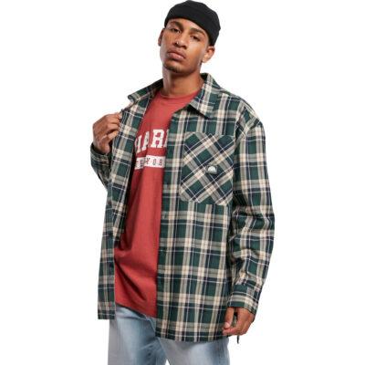 Camasa Southpole Check Flannel Green