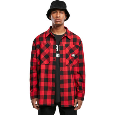 Camasa Southpole Check Flannel Red 1