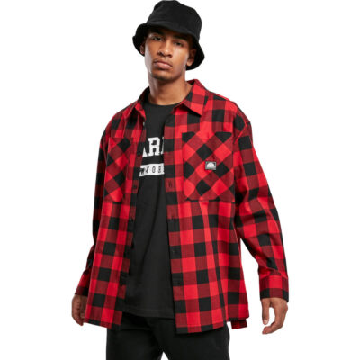 Camasa Southpole Check Flannel Red