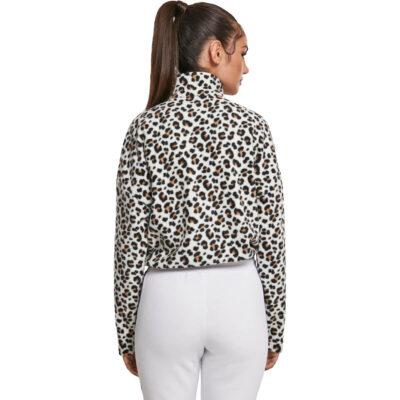 Bluza Urban Classics Ladies AOP Polar Fleece Troyer 1