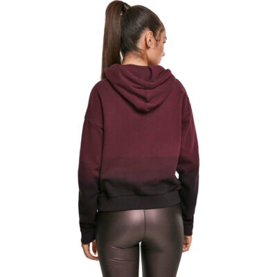 Hanorac Urban Classics Ladies Dip Dye 1
