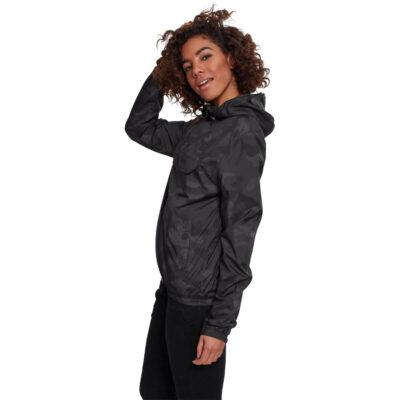 Jacheta Urban Classics Ladies Short Dark Camo Pull Over 1