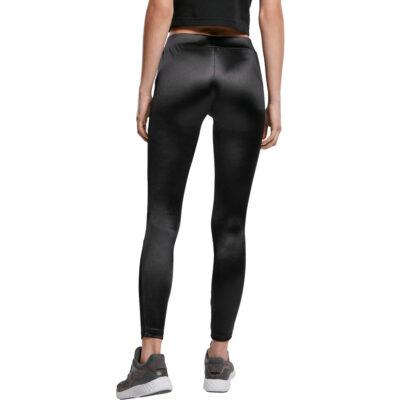 Leggings Urban Classics Ladies Shiny Tech Mesh 1