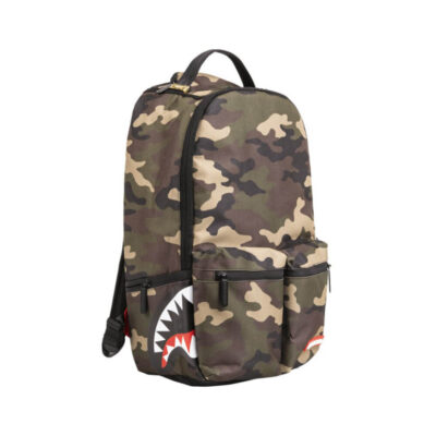Rucsac Sprayground Camo Mesh Side Shark 1