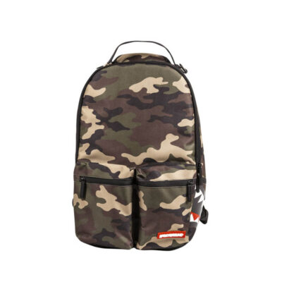Rucsac Sprayground Camo Mesh Side Shark