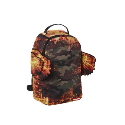 Rucsac Sprayground Pyro Camo Double Wings 1