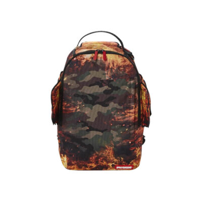 Rucsac Sprayground Pyro Camo Double Wings