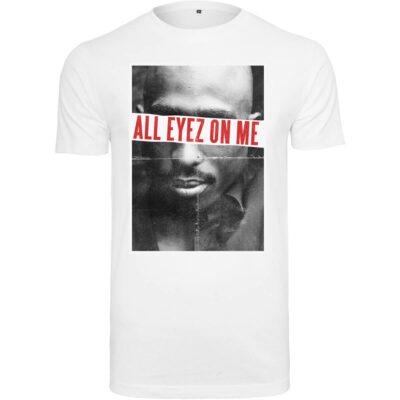 Tricou 2 Pac All Eyez on me Alb