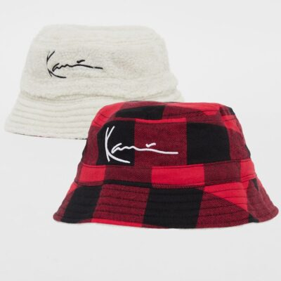 Bucket Hat Karl Kani Signature Reversible Teddy