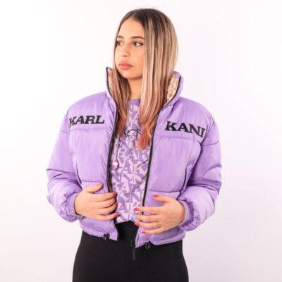 Geaca Karl Kani Retro Reversible Short Puffer 1