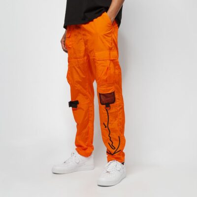Pantaloni Karl Kani Signature Crincle Nylon Cargo 2