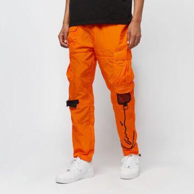 Pantaloni Karl Kani Signature Crincle Nylon Cargo