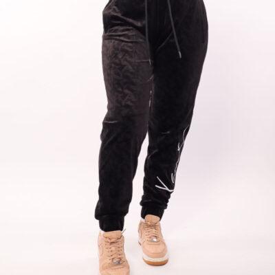 Pantaloni Karl Kani Signature Velvet Black