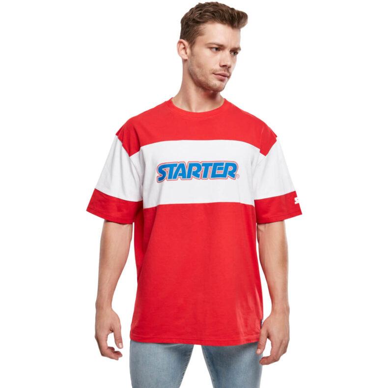 Tricou Starter Block Jersey Red 4