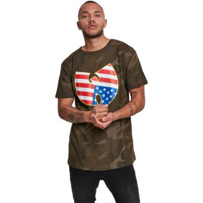 Tricou Wu-Wear American Camo