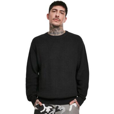 Bluza Urban Classics Cardigan Stitch Black